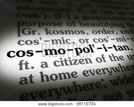 Dictionary Cosmopolitan