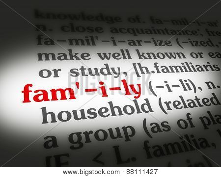 Dictionary Family