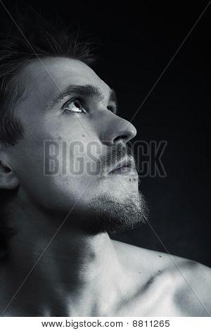 Sad Beautiful Man