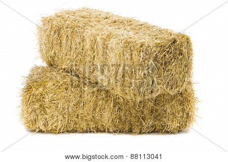 Two Bales Of Hay