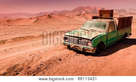 Abandoned In The Desert