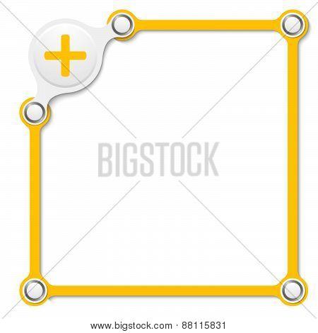 Vector Yellow Box