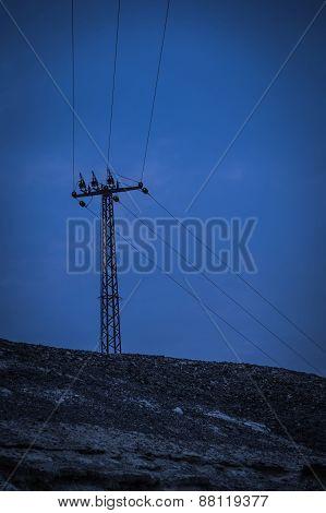 Voltage Electric Pole