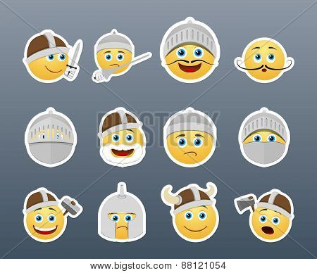 Smilies Vikings And Knights