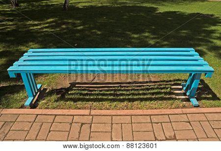 Blue Bench