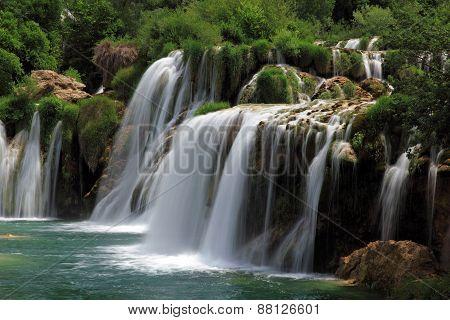 Waterfall Skradinski Buk