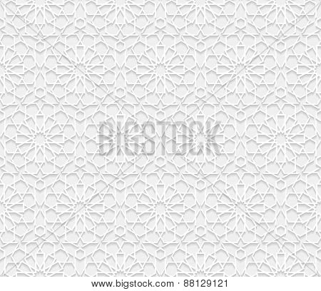 Seamless pattern in traditional style