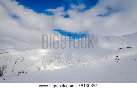 Old ski resort