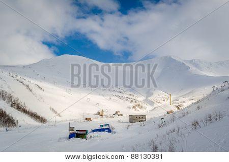 Hibini mountains landscape