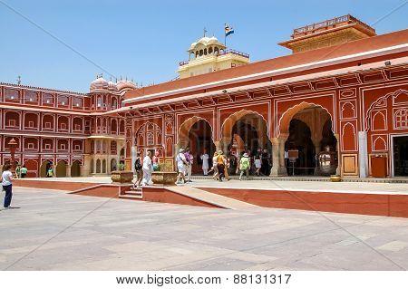 Chandra Mahal In Jaipur, India