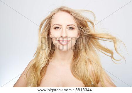 natural blond beauty