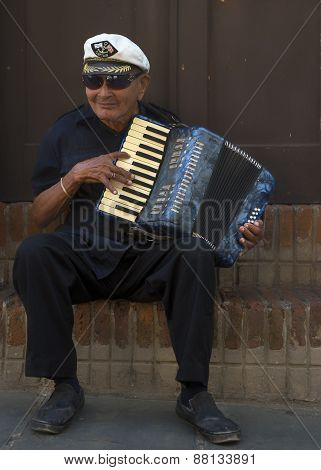 Accordeon Player.