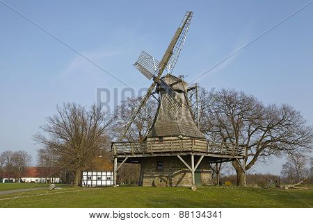 Windmill Levern (stemwede, Germany)