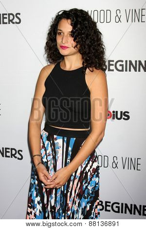 LOS ANGELES - FEB 15:  Jenny Slate at the