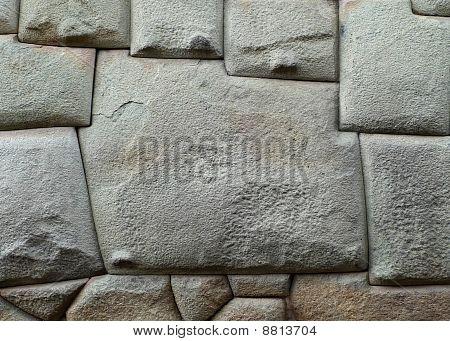 12 sided Inca Hatunrumiyoc stone (Cuzco, Peru)