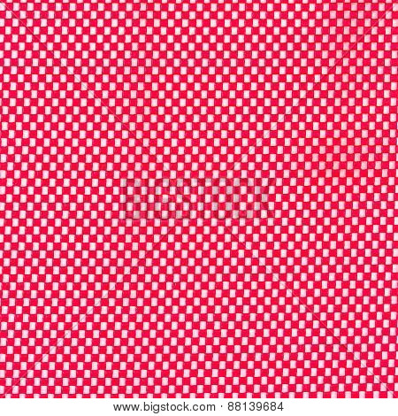 Red Rubber Mesh