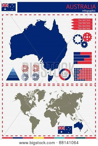 Vector Australia Illustration Country Nation National Culture Concept