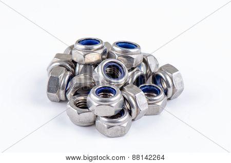 Set metal hex nut
