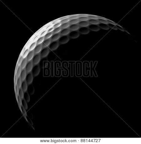 Golf Ball In Dark