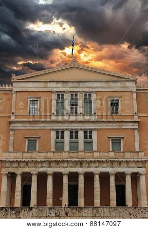 Parliament In Athens Greece