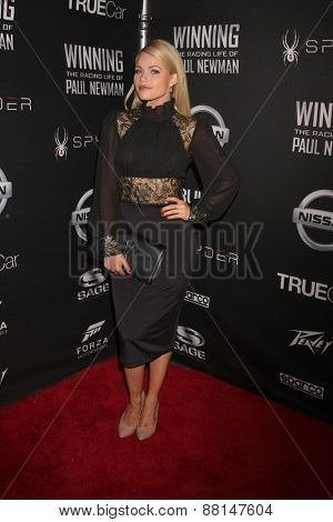 LOS ANGELES - FEB 16:  Witney Carson at the