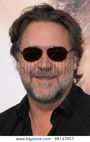 LOS ANGELES - FEB 16:  Russell Crowe at the