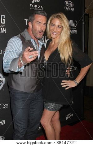 LOS ANGELES - FEB 16:  Skip Bedell, Alison Bedell at the