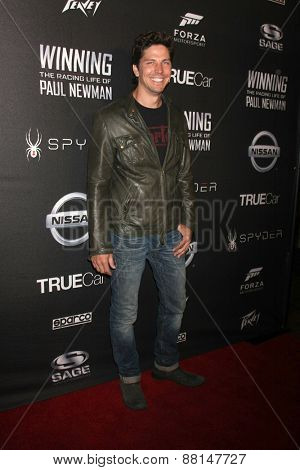 LOS ANGELES - FEB 16:  Michael Trucco at the