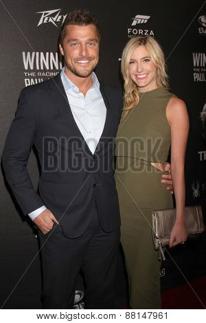 LOS ANGELES - FEB 16:  Chris Soules, Whitney Bischoff at the