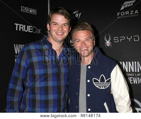 LOS ANGELES - FEB 16:  Brother, Brett Davern at the