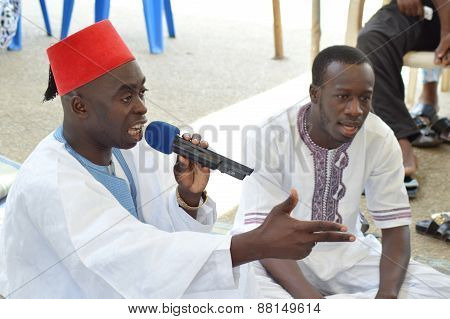 Imam speaks