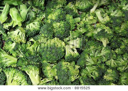Corte o brócolis