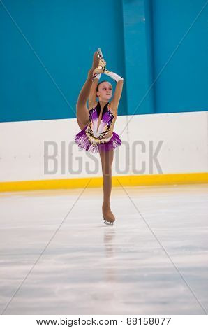Girl Figure Skater, Orenburg, Russia