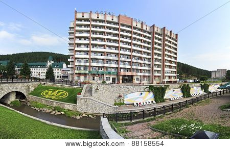 Sanatorium Altai-West in the resort Belokurikha.