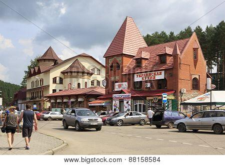 Belokurikha - the most famous Siberian health resort.