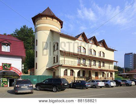 Business Hotel Russia in the resort Belokuriha.