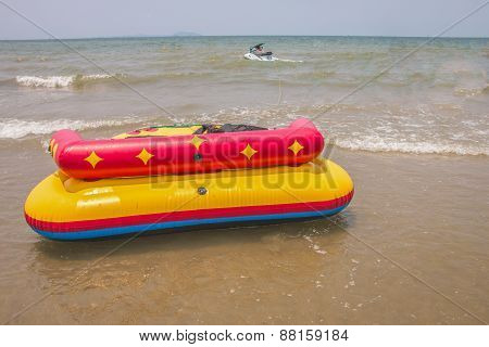 Sofa Boat In The Sea