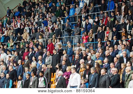 Spectators Of A Show