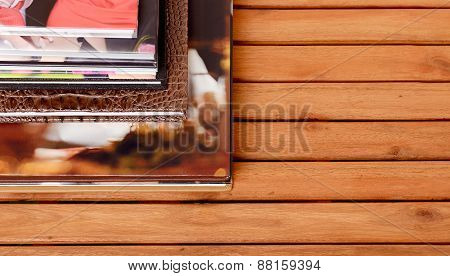 Photo book - Stock Photo