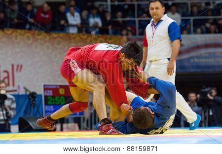 Emil Khasanov (r) Vs Evgeniy Sukhomlinov (b) Fights