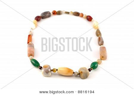 stone necklace
