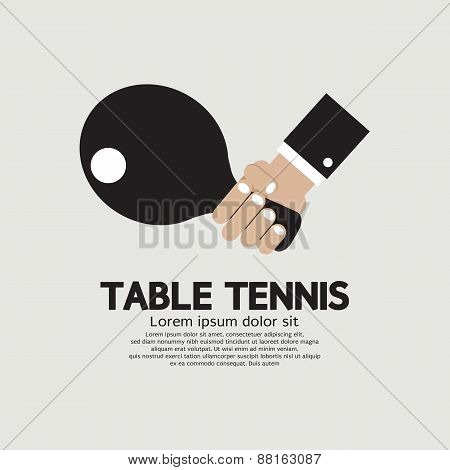 Table Tennis Indoor Sport.