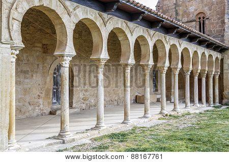Mozarabic Monastery Of San Miguel De Escalada In Leon