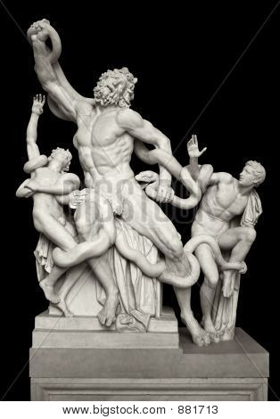 Statue Of Laocoon And His Sons