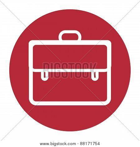 Briefcase Icon, Vector Illustration