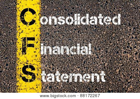 Business Acronym Cfs - Consolidated Financial Statement