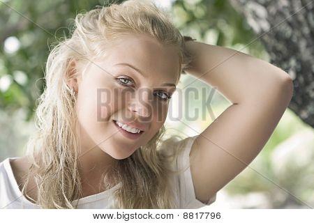 Retrato soleado