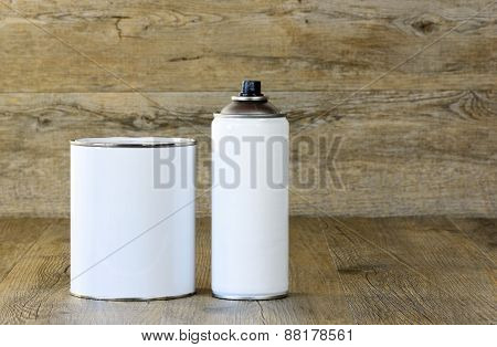Aerosol And  Paint Pot