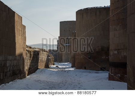 city walls of Ani, Turkey