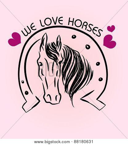 We Love Horses